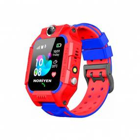 Smartwatch de niños q19 rojo/azul