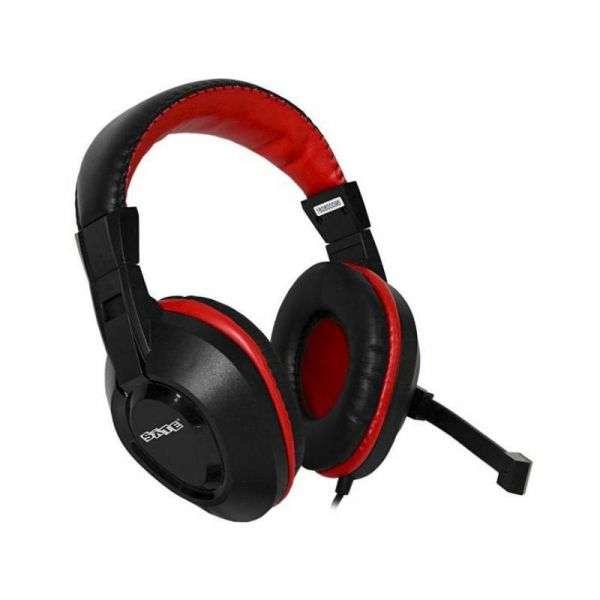 Auricular Gamer Sate AE-263 3.5mm - Negro/Rojo - 0