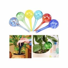 Regadera por goteo aqua globes