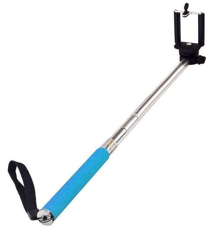 Selfie Stick Monopie Azul - 0