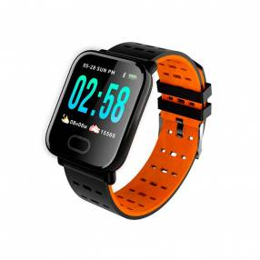Smartwatch a6 brazalete naranja