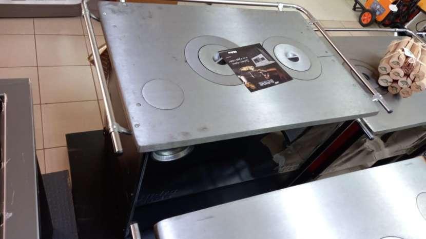 Cocina a leña negro hidro supreme box nug - 0