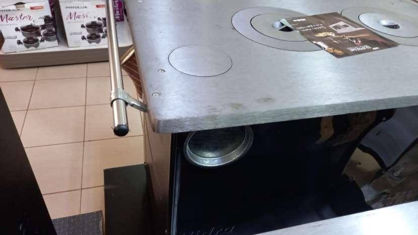 Cocina a leña negro hidro supreme box nug - 2