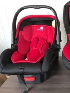 Asiento para auto baby seat lefant rojo 0 a 9 kg (3804 - 0