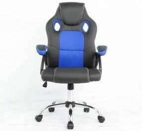 Silla gamer azul/negro 100 kg (2735)