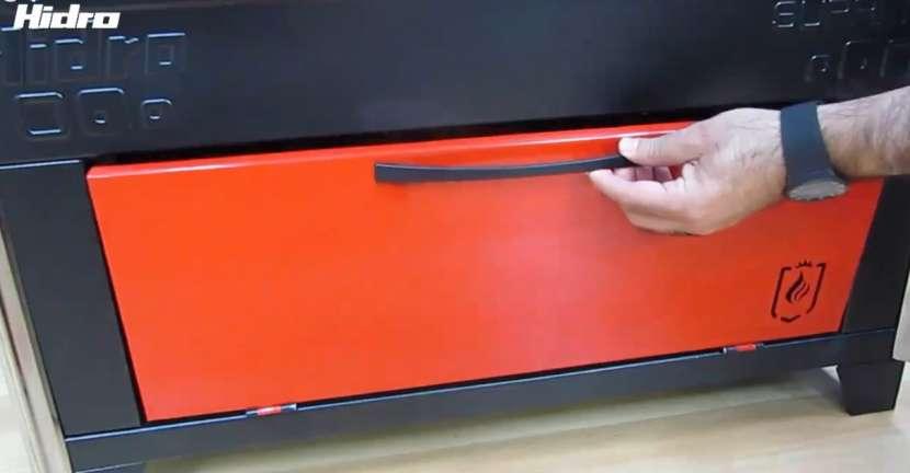 Cocina a leña rojo negro hidro supreme box nug - 10