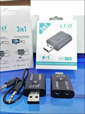 Adaptador de Bluetooth con cable Auxiliar