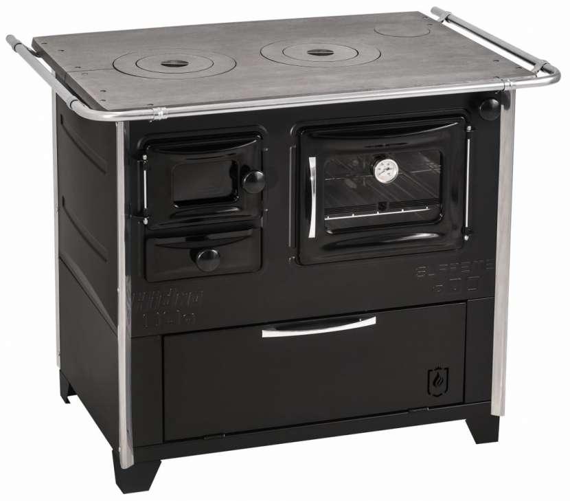 Cocina a leña negro hidro supreme box nug - 8