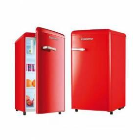 Heladera frigobar 120 litros consumer retro rojo (1500)