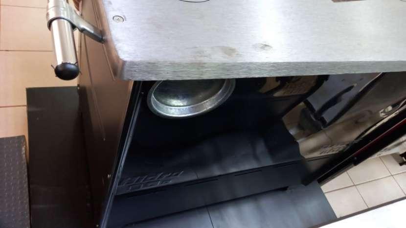Cocina a leña negro hidro supreme box nug - 1