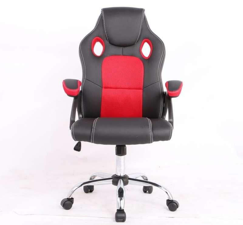 Silla gamer rojo/negro 100 kg (2735) - 0
