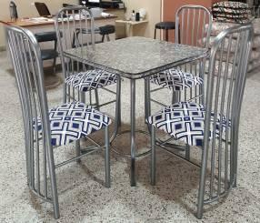 Juego de comedor stilo formica 4 sillas (3906)
