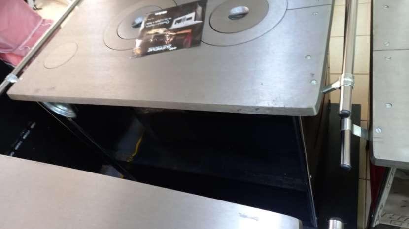 Cocina a leña negro hidro supreme box nug - 3