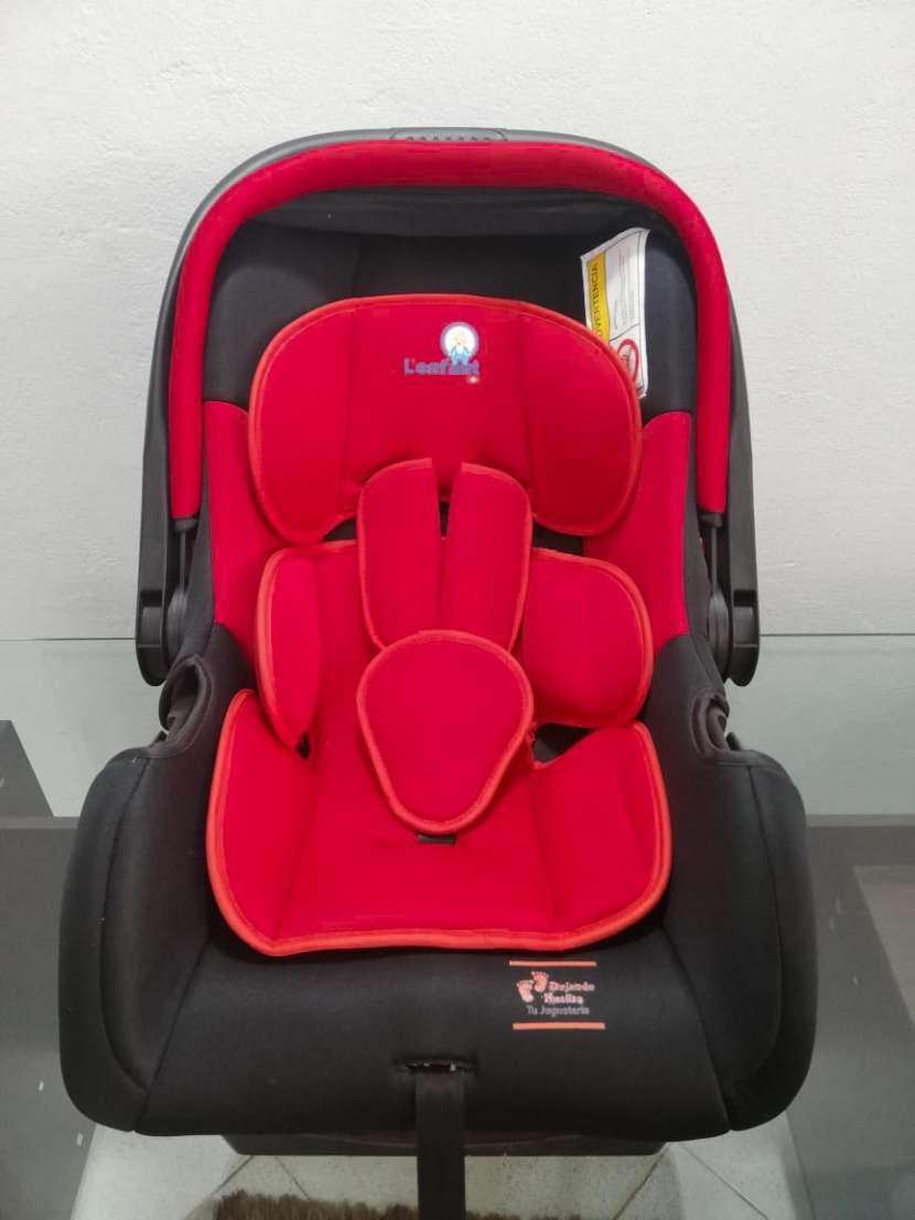 Asiento para auto baby seat lefant rojo 0 a 9 kg (3804 - 2