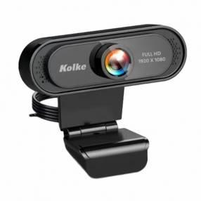 Camara web kolke 1080p full hd/usb 2.0 kec-486