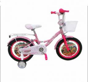 "Bicicleta caloi aro 16\"" sofi rosado/fucsia"