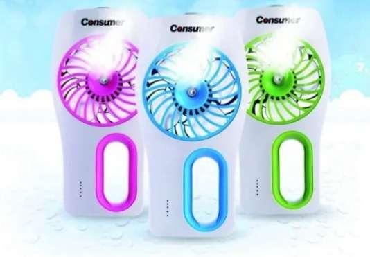 Mini ventilador humificador consumer - 0
