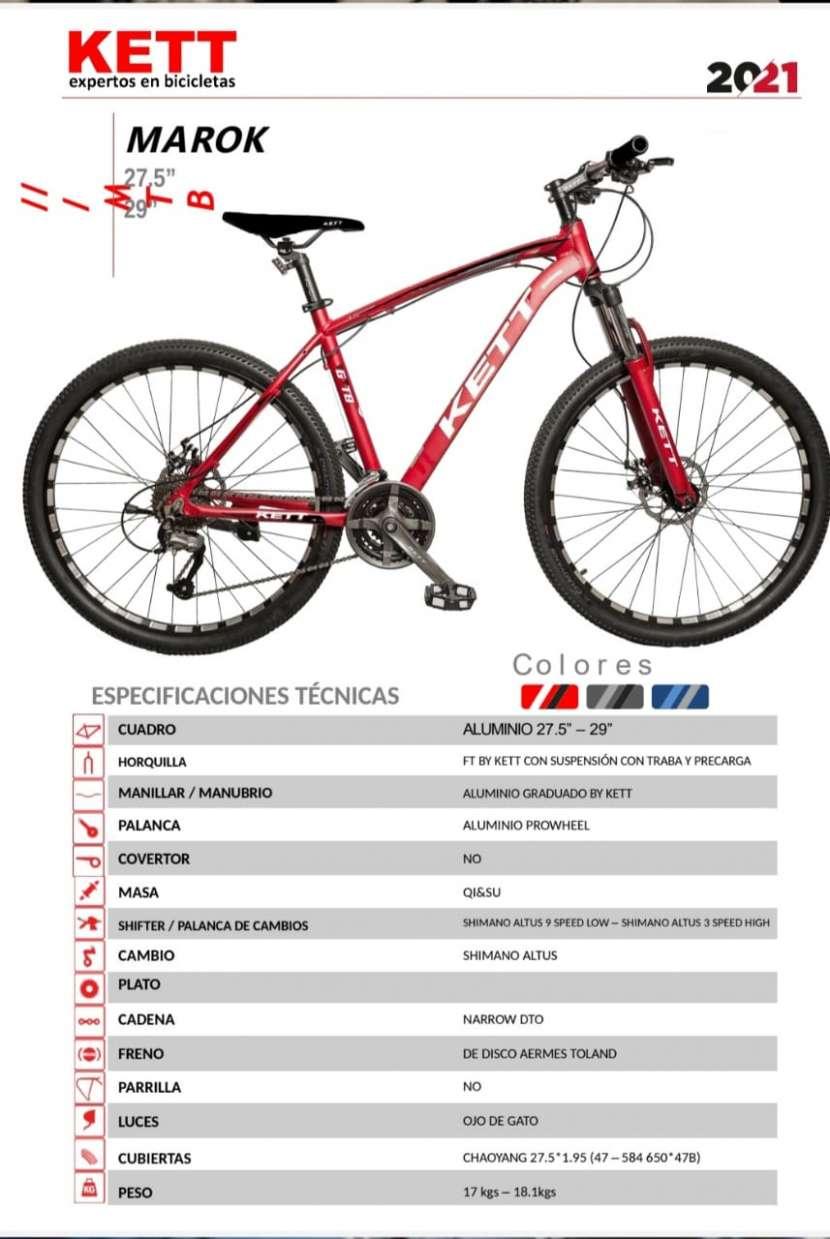 Bicicleta kett marok aro 29 (4081) - 1