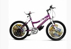 """Bicicleta milano action dama lila/rosado 20"""""""