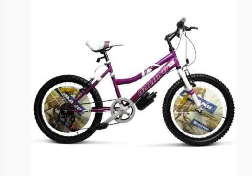 """Bicicleta milano action dama lila/rosado 20"""" - 0"""