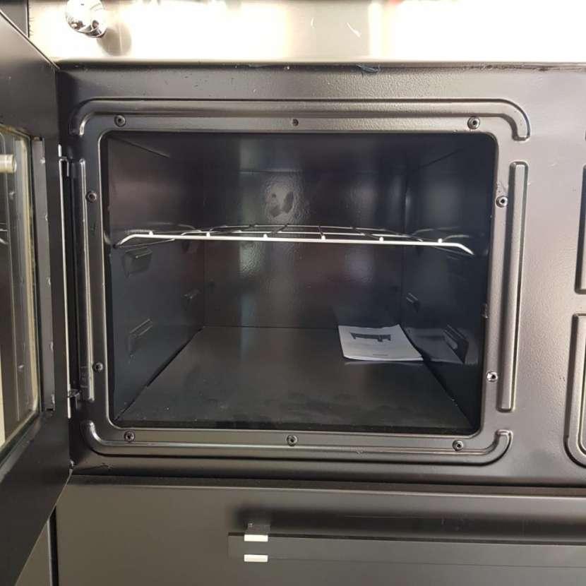 Cocina a leña negro hidro supreme box nug - 6