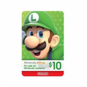 Nintendo eshop gift card 10$