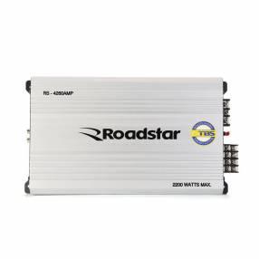 Amplificador roadstar rs-4260amp 4ch 2200w