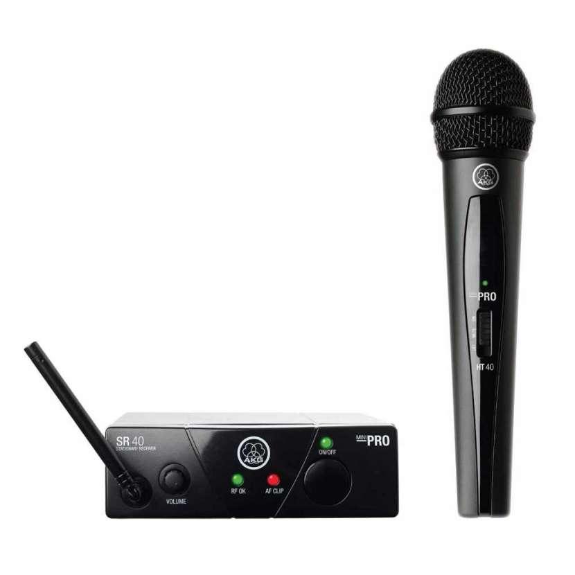 Microfono wms40 mini vocal set us25 akg 4014 - 1