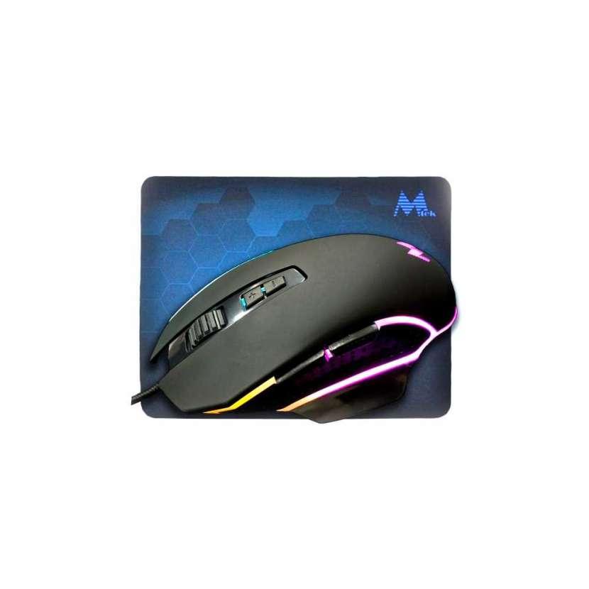 Mouse+mouse pad mtek gaming pg68 - 0