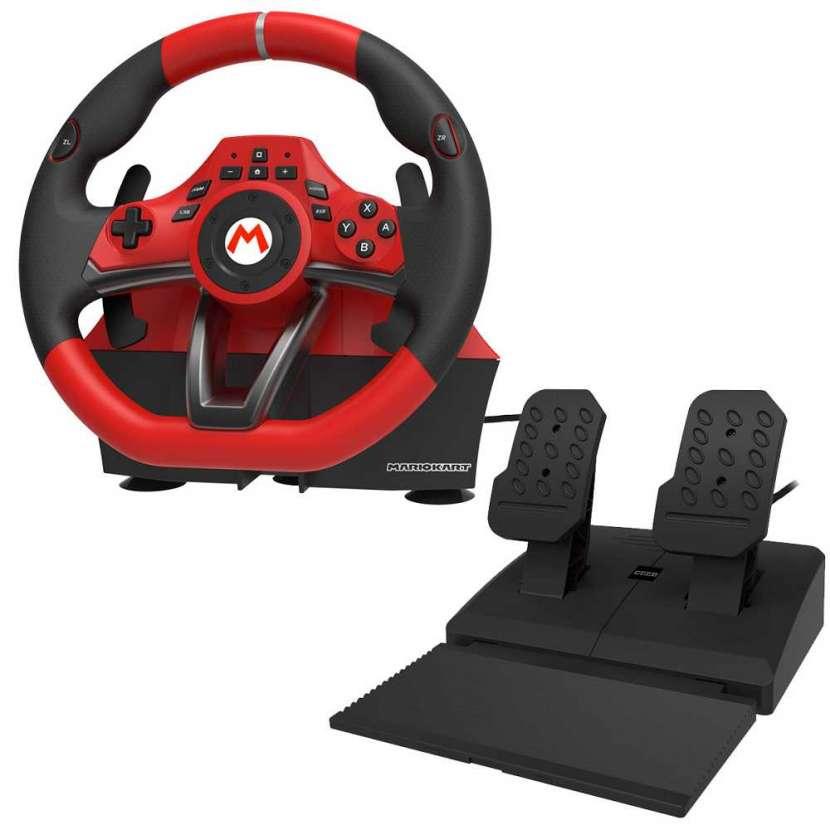 Volante con pedal nintendo switch mario kart pro nsw-228 - 1