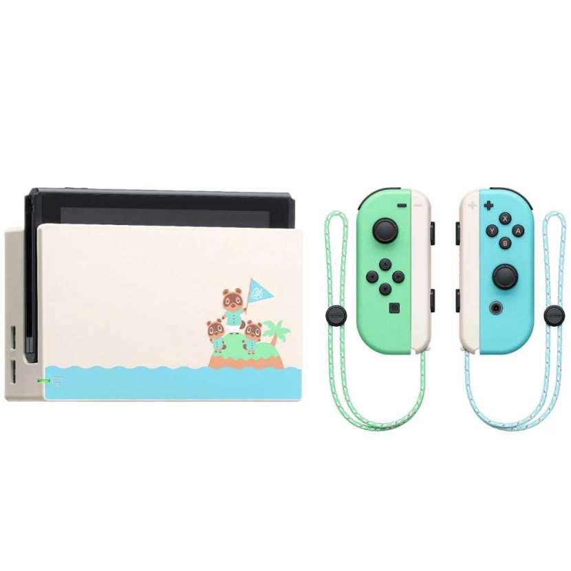 Consola nintendo switch 32gb animal cross new - 3