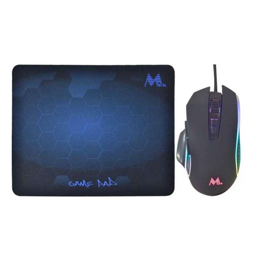 Mouse+mouse pad mtek gaming pg68 - 2