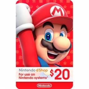 Nintendo eshop gift card 20$
