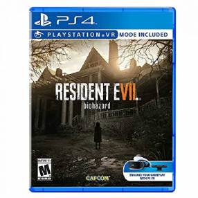 Juego ps4 resident evil