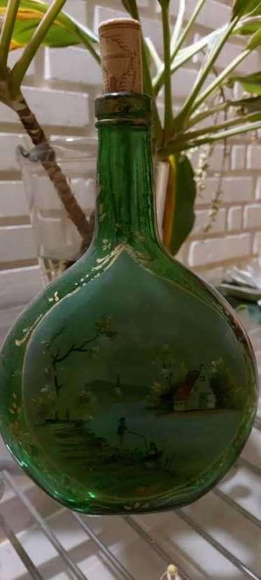 Botellas pintadas para decoración - 1