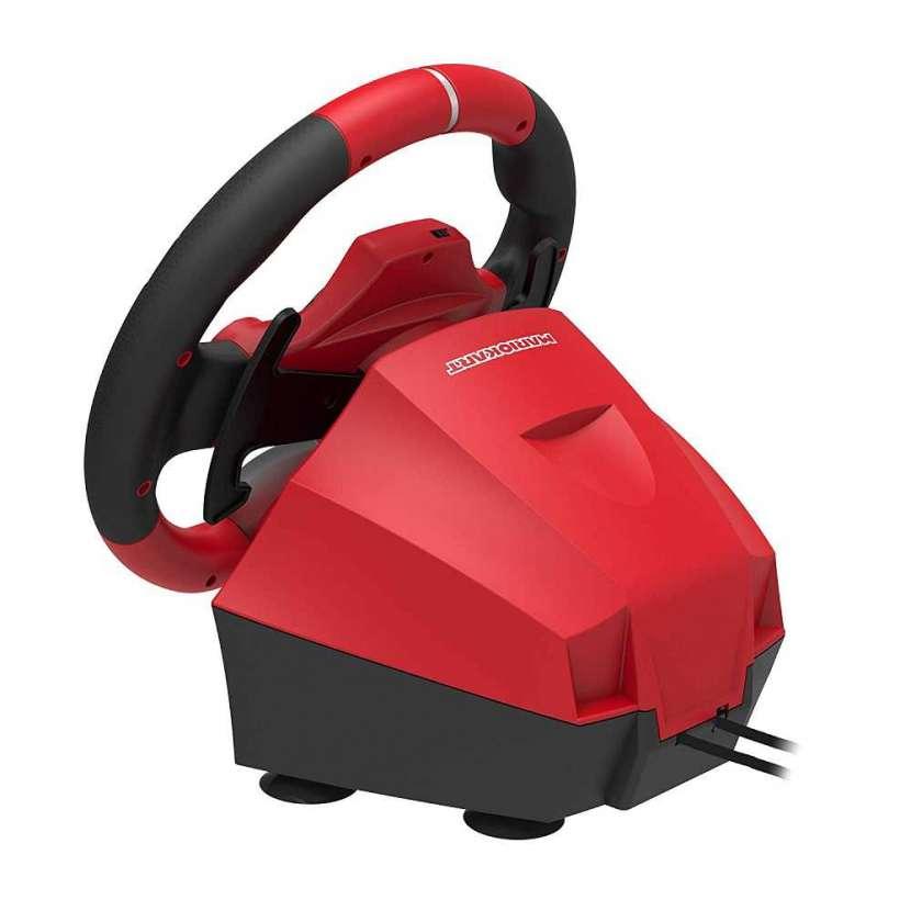 Volante con pedal nintendo switch mario kart pro nsw-228 - 0