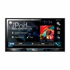 "Radio para automóvil pioneer dvd avh-x4750dvd 7"" usb/aux/mitr"