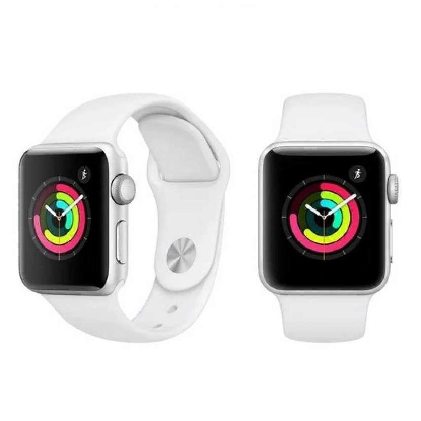 Apple watch serie 3 42mm silver - 0