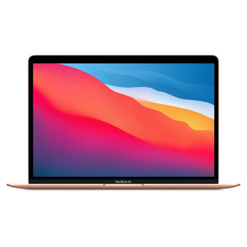 "Macbook air m1/8gb/256ssd 13.3\"" (2020) gold - 3"