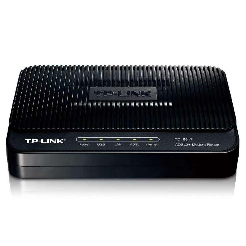 Tp-link modem adsl2 router td-8817 - 1