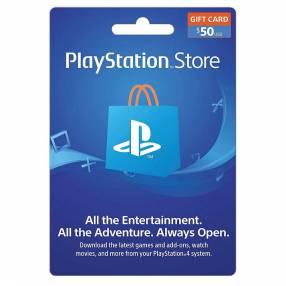 Playstation store gift card psn 50 $