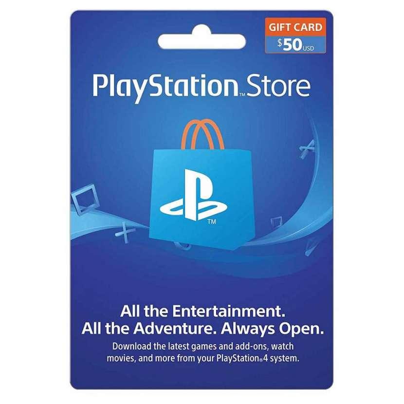 Playstation store gift card psn 50 $ - 0