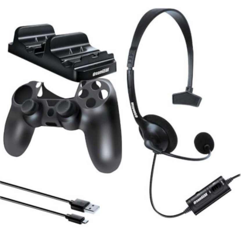 DREAMGEAR GAMER KIT FOR PS4 - 1