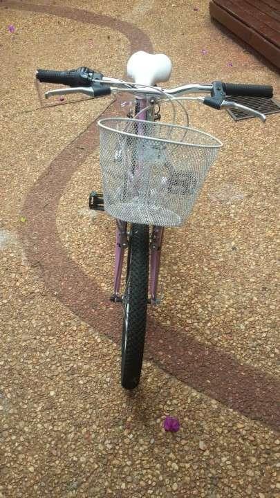 Bicicleta Caloi aro 20 color rosa - 3