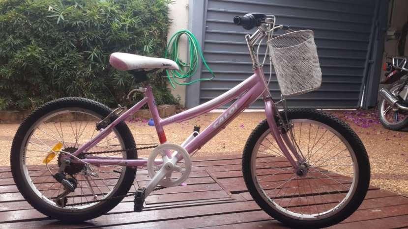 Bicicleta Caloi aro 20 color rosa - 2