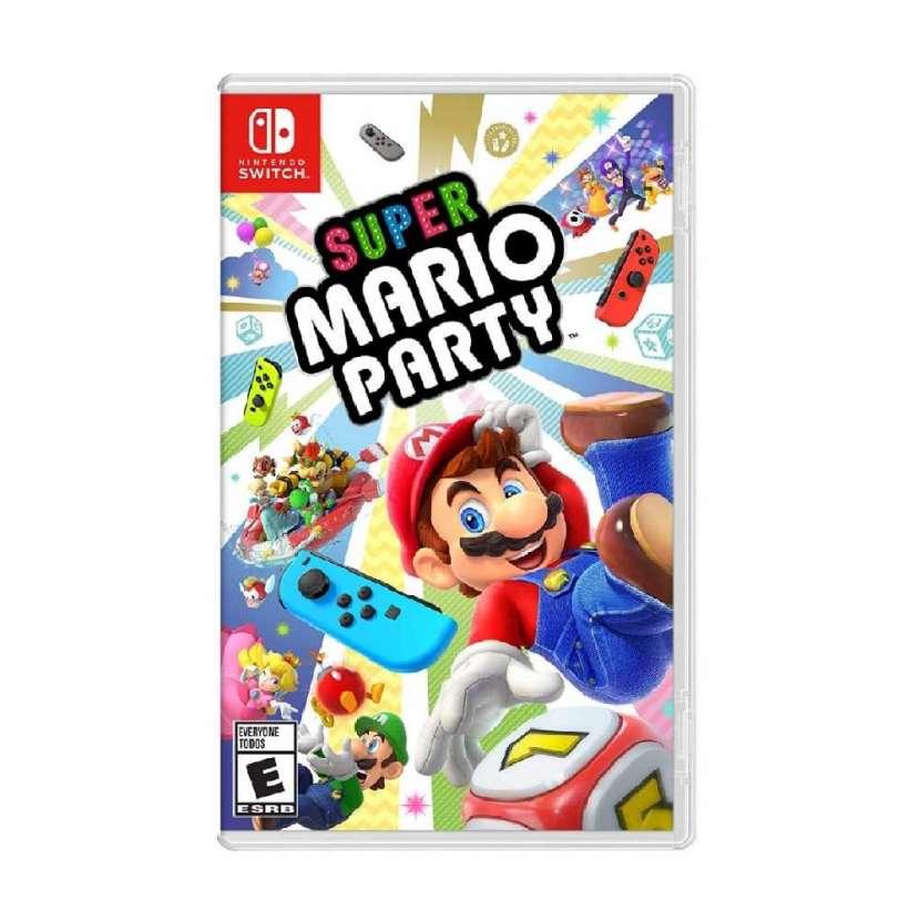 Juego nintendo switch super mario party - 0