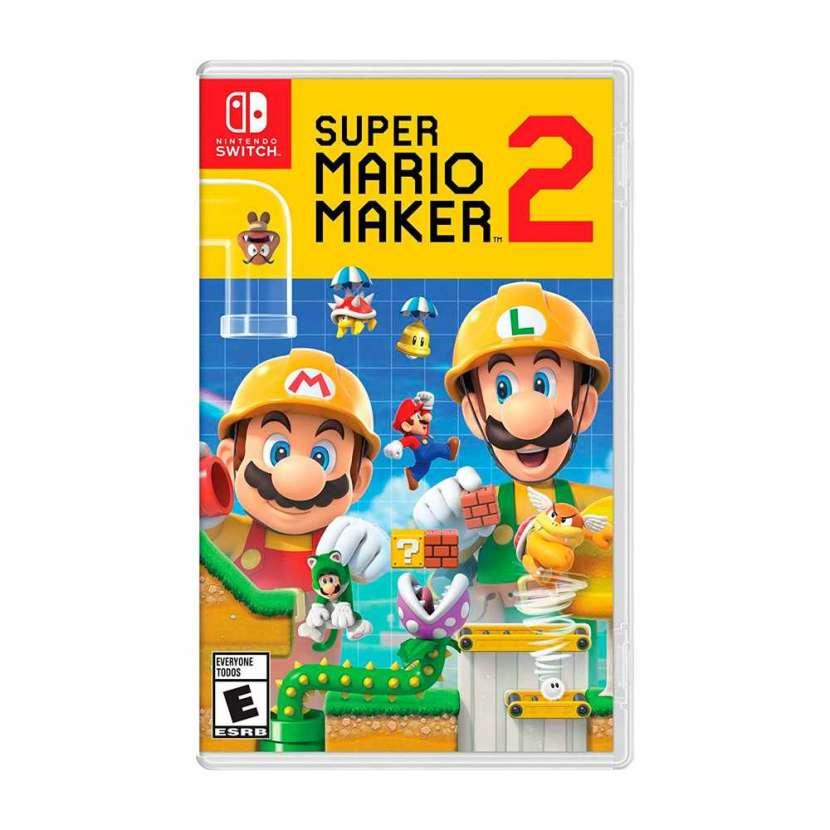 Juego nintendo switch super mario maker 2 - 0