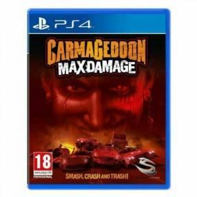 Juego ps4 carmageddon max damage