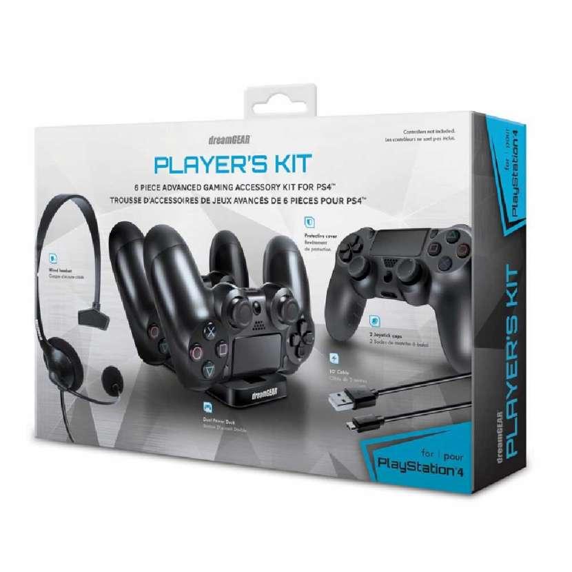 DREAMGEAR GAMER KIT FOR PS4 - 0