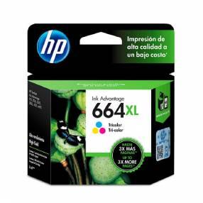 Tinta hp 664 xl color